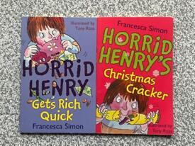 FREE Horrid Henry Paperback Books