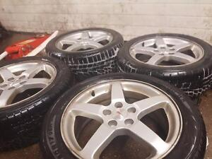 Pontiac G6 Aluminum Alloy Wheels & Winter Tires - 17 inch Pontiac Rims