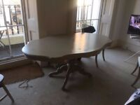 French Style Dinning Table painted in Farrow and Ball