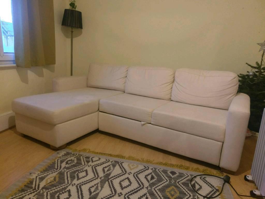 John Lewis Sacha Corner Sofa Bed In Leamington Spa