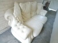 GOOD CONDITION LEATHER SOFA