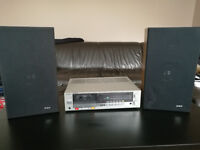 Sony stereo deck receiver X0-3 with GEC speakers