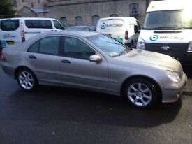 Merc c class 180 komp long mot low miles