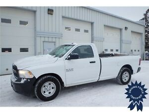 2013 Ram 1500 ST 2WD Regular Cab, 3.6L V6, Long Box Truck