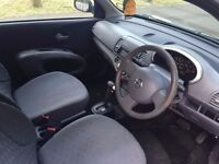Nissan Micra Automatic car. Good condition. Cheep insurance and tax. silver. MOT pass in this month.