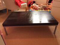 IKEA Black coffee table £5