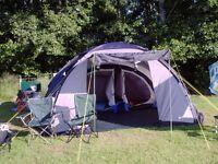 Wynnster Venus 5 man dome tent.