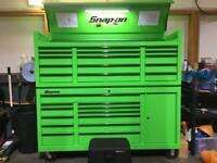 Snap on tool box. Extreme green. Rare
