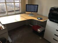 IKEA Bekant Corner Desk - Right sit
