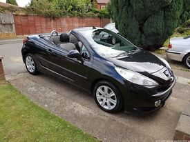 Peugeot 207cc sport convertible automatic. LOW MILES