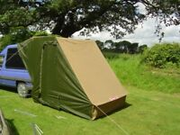 Caranex, as new, £150, a great way to make your van, camper or car bigger for camping