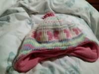Girls Winter Hat, 1-3 years