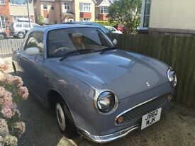 Nissan Figaro - Lapis Grey, good condition and in great running order. 9 month MOT. Dorset
