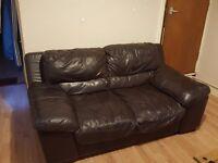 Leather sofas 3+2