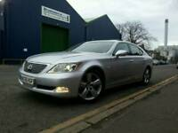 LEXUS LS460 SE-L 56 REG 56998 MILES »REMOTE CLOUSER »KEYLESS »ENTRY »COLOUR »SATNAV »DVD