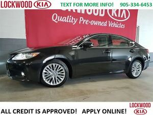 2015 Lexus ES 350 LEATHER, NAVIGATION, SUNROOF, HEATED SEATS