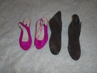 Womans Shoes Size 8 Wide fitting