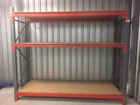 Pre owned heavy duty pallet racking