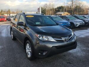 2014 Toyota RAV4 LE AWD! ONLY $172 BIWEEKLY WITH $0 DOWN!