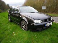 Top of the Range in BLACK 2002/52 Volkswagen Golf Mk4 1.9 GT Tdi 150 6 speed VERY FAST GREAT MPG