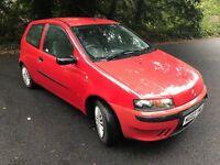 2003 Fiat Punto activ 1.2 manual tax and mot