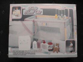 Girls Baby Doll Travel Cot and Bag