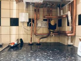 Heating and plumbing gas safe register Islington London