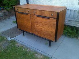 50s Glendale Compact Sideboard/Dresser Drinks Cabinet