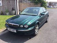Jaguar x type 2.0 se turbo diesel 2005 facelift model 4 door saloon mot sept 27 history