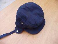 Warm hat for a boy