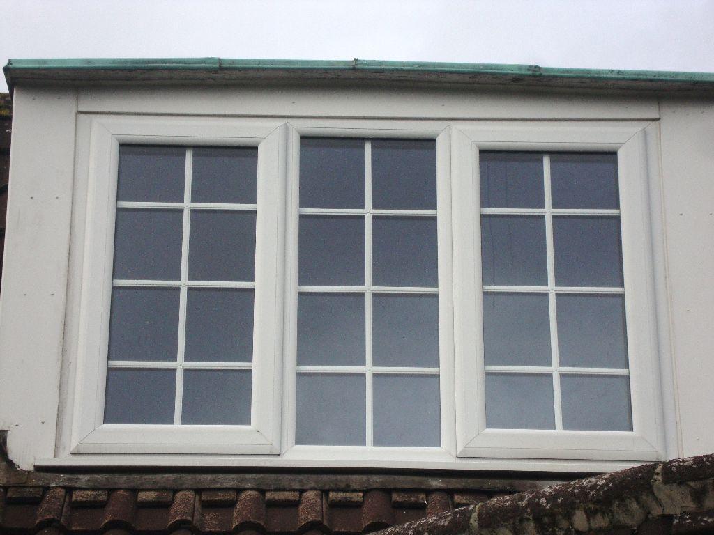 white upvc georgian bars style window double glazed 154cm. Black Bedroom Furniture Sets. Home Design Ideas