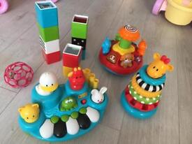 Toy Bundle, includes ball on the next photo