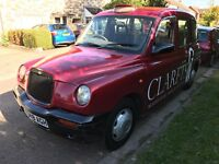 London TAXIS INT TX1 Bronze 2664cc Turbo Diesel Automatic T Reg 19/07/1999 Red