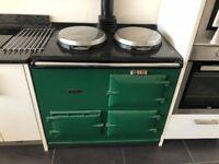 AGA - 2 oven, 2 plates