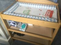 Wooden Nappy Changing Table
