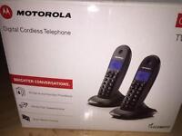Motorola twin DECT Cordless Digital Phone