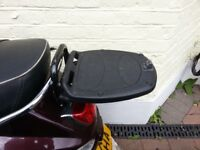 GIVI Large Top Box With Rack And Key / Storage Box For Piaggio LX 125 150 2005-2010