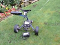 Hill Billy Golf Trolley + Charger no battery