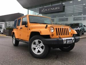 2012 Jeep WRANGLER UNLIMITED Sahara AWD Leather