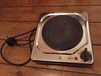 Swan electric plug in hot plate hob