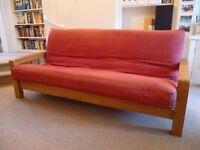 Futon Company 3 seater sofa bed
