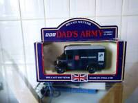 Lledo dads army salvation army dennis mobile canteen