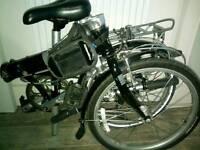 Dahon folding bike. 7 speed