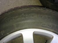 Passat alloy wheels with Goodyear tyres