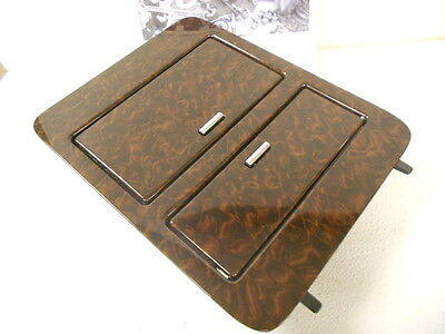 Genuine GM Beautiful Maple Style Wood Center Console Bezel Cup Holder Luxury NEW