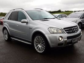 2007 mercedes ML 6.3 AMG V8, motd until dec 2016 full history stunning jeep a must see