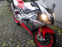 Aprilia rsv1000r swap part/ex