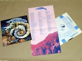 Moody Blues, Justin Hayward LP Record Bundle