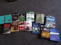 14 crimonology books