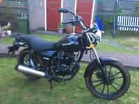 Lexmoto ZSB as new, superb starter bike, stored since new